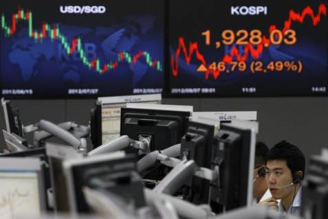 Bursa Asia Parkir di Zona Hijau